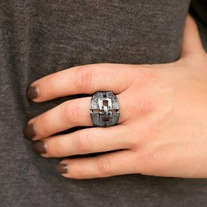 Paparazzi Accessories Gunmetal Ring